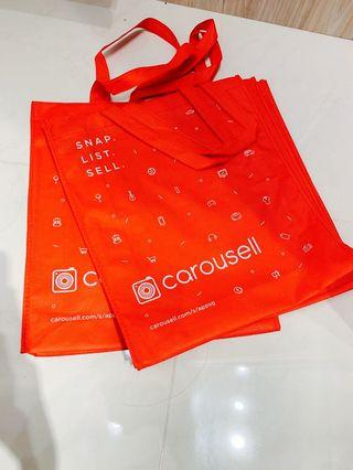 Carousell Recycled Bag