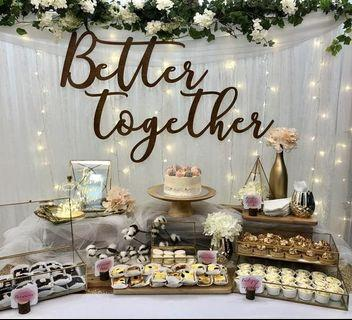 Wedding ROM Dessert Table