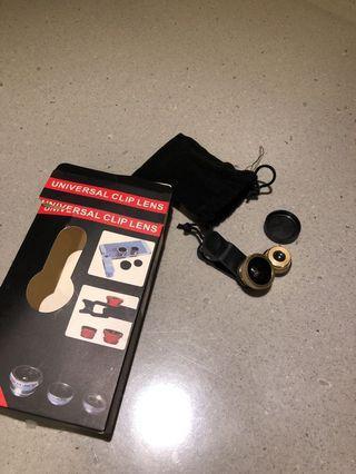 🚚 Phone clip on camera lens