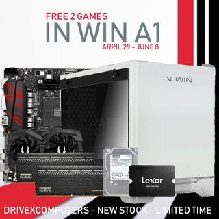 [NEW SET] RYZEN 7 2700 + GTX 1660TI 6GB + 16GB RAM DESKTOP PC!!