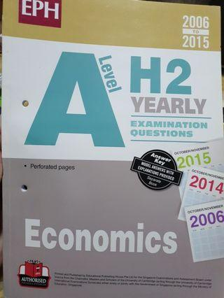 🚚 A Level H2 Economics TYS Questions