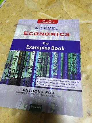 🚚 A Level Economics Example Book