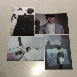 Seventeen Joshua Director's Cut Postcards