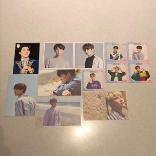 Seventeen Official Postcards / Photos