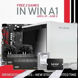 [NEW SET] RYZEN 7 2700 + GTX 1660 6GB + 16GB RAM DESKTOP PC!!