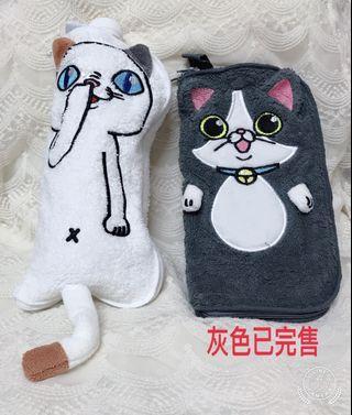 多功能🐱貓星人收納包 可展開 外出袋 飲料袋