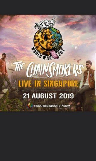 The chainsmokers concert live Cat 1
