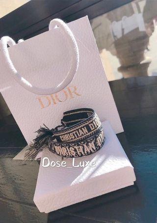 🚚 Dior bracelet 2019 ss  早春 編織手環