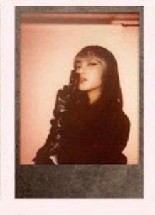 (WTT) Blackpink Lisa Polaroid from Kill This Love Album