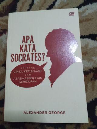 Apa kata Socrates #BAPAU