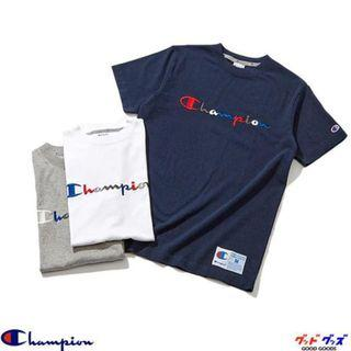 【HYPED.】Champion Rainbow Logo T-Shirt Tee