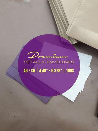 C6 Metallic Envelopes 100s