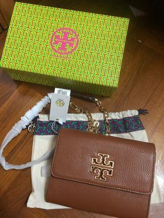 Tory Burch Wallet in bag crossbody pouch handbag pouch 袋 genuine leather
