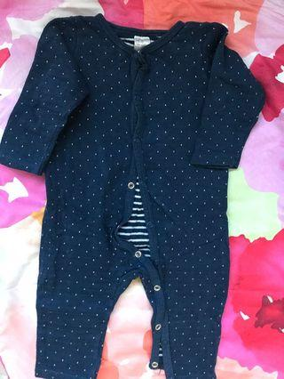 H&M's baby sleepsuit 4 to 6 months