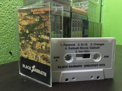 Rare Black Sabbath US Bootleg/Pirate Cassette