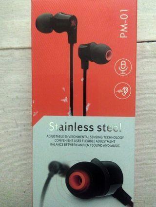 Headphone PM-01 Stainless Steel