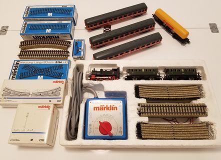 Marklin 2920 set HO + rails + Lima trains