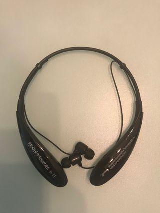 Wireless headset (neck-strap) 無線藍芽耳機