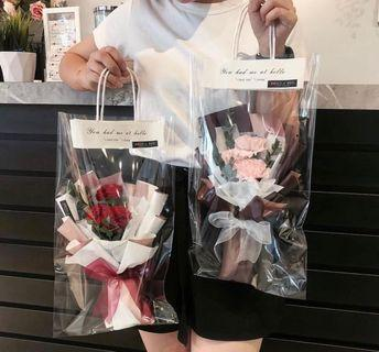 Mother's Day carnation flower bouquet 🌸 Mother's Day gift 🌸carnation flower bouquet 🌸 fresh flower 🌸 3 stem pink carnation bouquet