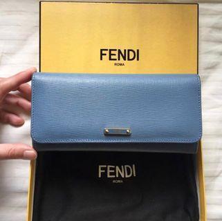 Fendi 銀包 wallet 女裝銀包 真皮 leather