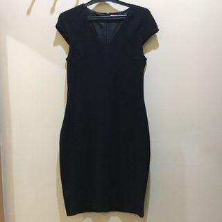 Mango Suit Black Mididress