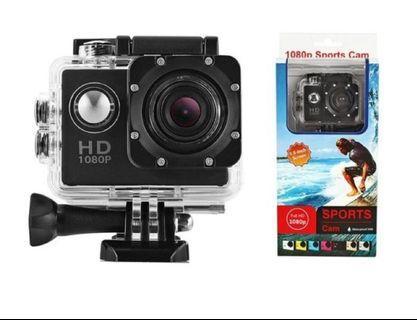 1080P全高清視頻動作運動迷你相機防水案例DV防水凸輪水下潛水5MP鏡頭攝像機行車記錄儀