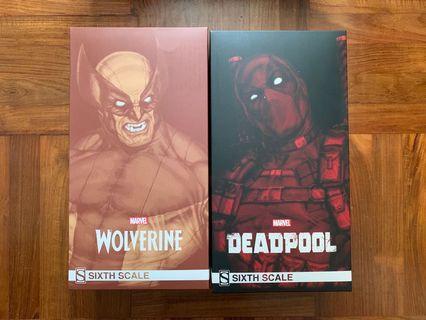 Sideshow Marvel Avengers Wolverine Deadpool