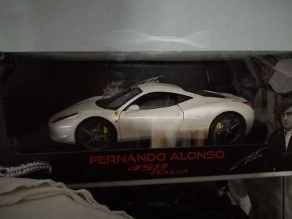 HWE Ferrari 458 Fernando alonso