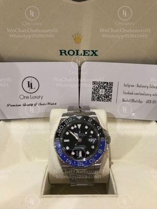 "Rolex GMT-Master II ""Batman"""