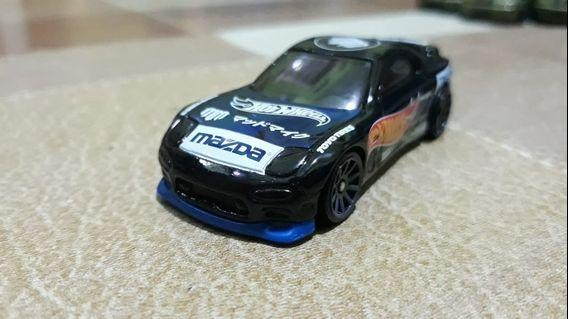 HOTWHEELS LOOSE MAD MIKE MAZDA RX-7
