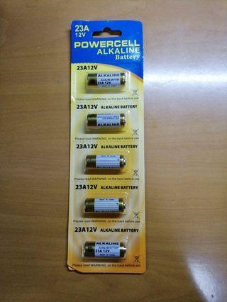 23A12V 鹼性電芯