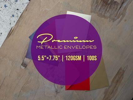 "Metallic Envelope 100S (5.5"" X 7.75"")"