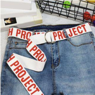 PROJECT Streetwear Belt (PO)