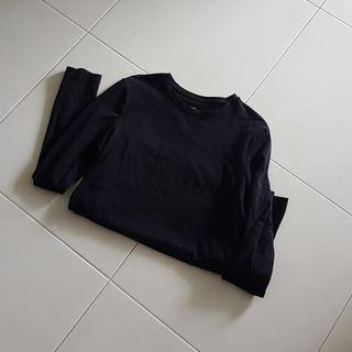 H&M Black Long Sleeved Top/Pullover