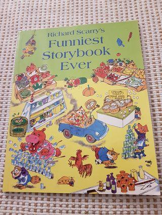 🚚 Richard Scarry The Funniest Storybook Ever