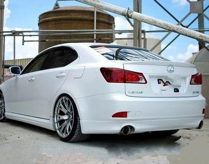 Lexus bootlip for IS250