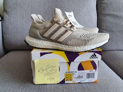 Brand new Adidas UltraBOOST LTD Chalk Cream US9.5/UK9
