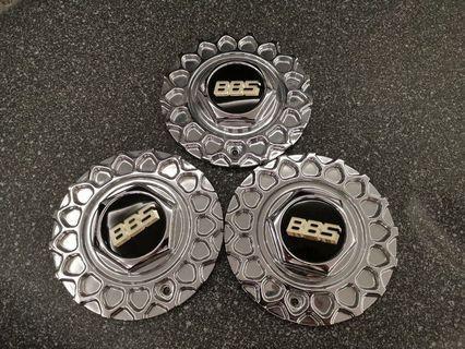 """BBS RS rims chrome centre caps. 17"""" 18"""""""