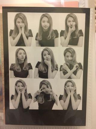 (wtt) Kard You & Me Jiwoo 'me&me photocard'