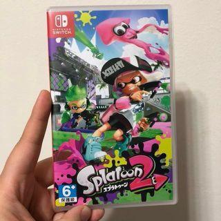 🚚 僅玩一次 Switch 漆彈大作戰2 日文版 switch ns 遊戲 任天堂