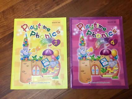 二手 Playtime Phonics 3 & 4 by Educational Publishing House Ltd