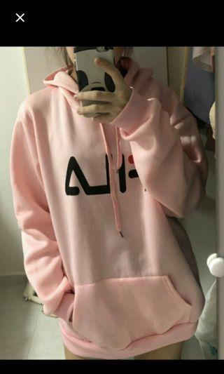 (NO INSTOCKS!)Preorder korean style Unisex Oversized Fila hoodies* waiting time 15-17days after payment is made* chat to buy to order