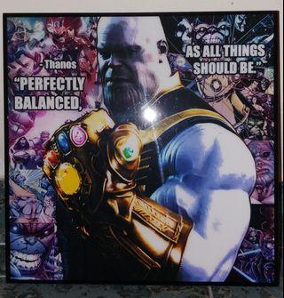 Mavel Thanos 掛畫