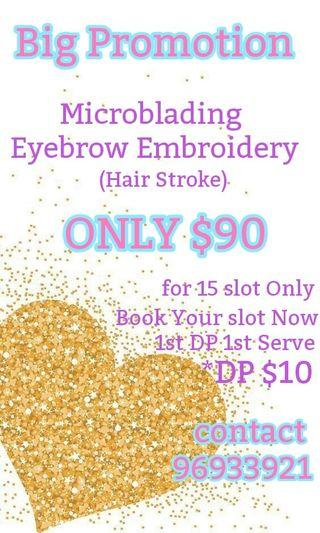 Eyebrow Embroidery