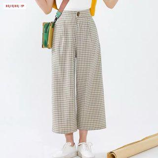 Checkered Culottes