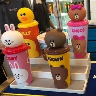 Line friends cup (Choco)
