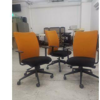 Chairs - Orange - $30.00