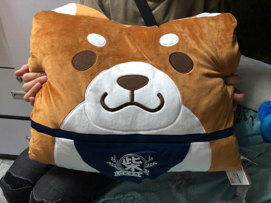 柴犬 抱枕 公仔 日本景品
