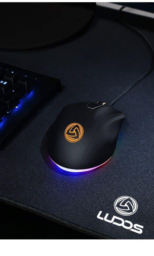 A081: LUDOS Flamma RGB mouse