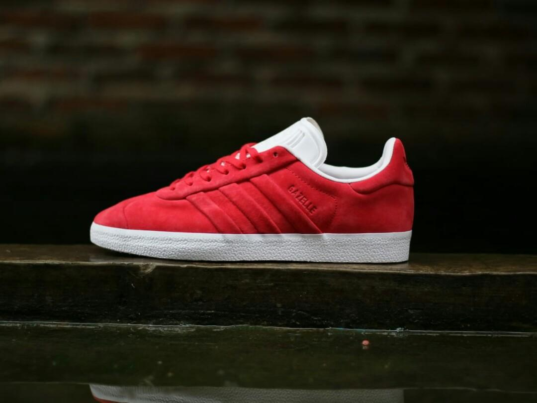 Adidas Gazelle Suede Stitch Red BNIB 40-44